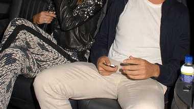 Heidi Klum und Vito Schnabel wurden im Auto erwischt. - Foto: WENN.com