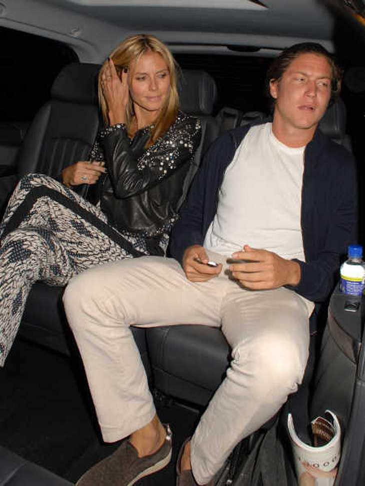Heidi Klum und Vito Schnabel wurden im Auto erwischt.