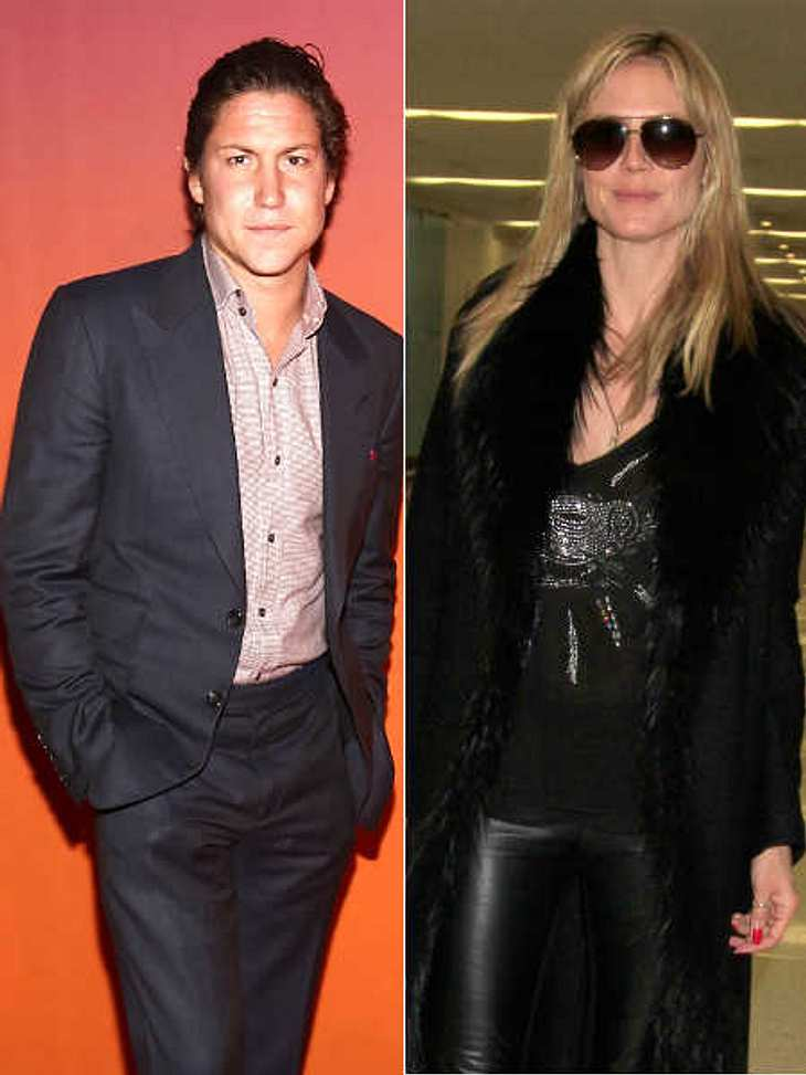 Heidi Klum und Vito Schnabel fuhren gemeinsam davon.