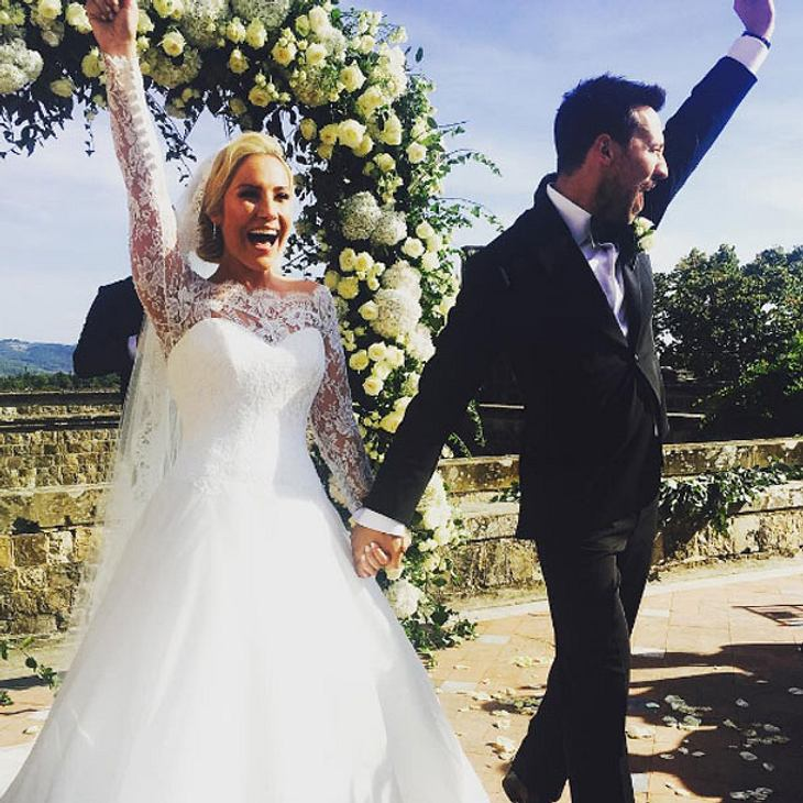 Heidi Range hat geheiratet