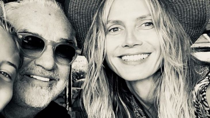 Heidi Klum: Selfie mit Ex-Freund Flavio Briatore