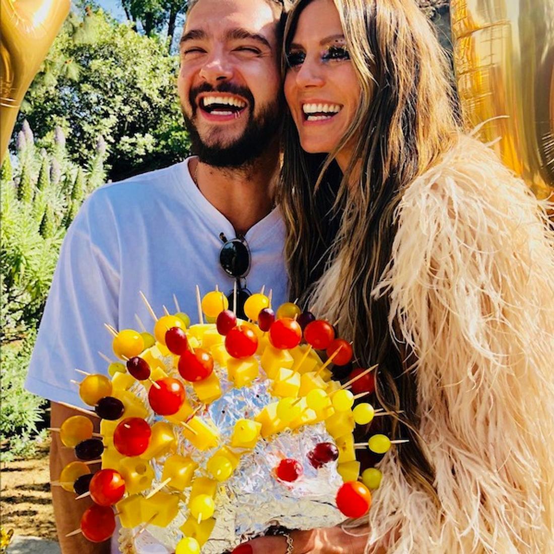 Süße Liebeserklärung: Heidi Klum feiert mit Tom Kaulitz Geburtstag
