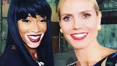 Heidi Klum und Winnie Harlow - Foto: Instagram / Heidi Klum