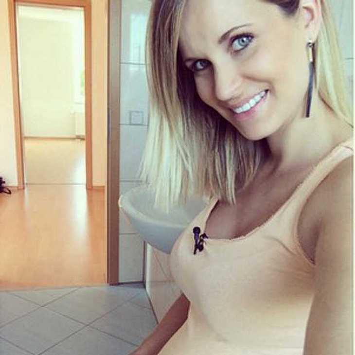 Helen Weersmann im Babyglück