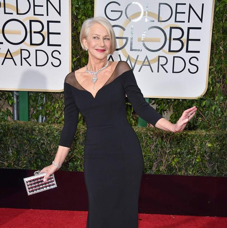 Auch Helen Mirren war bei den Golden Globes