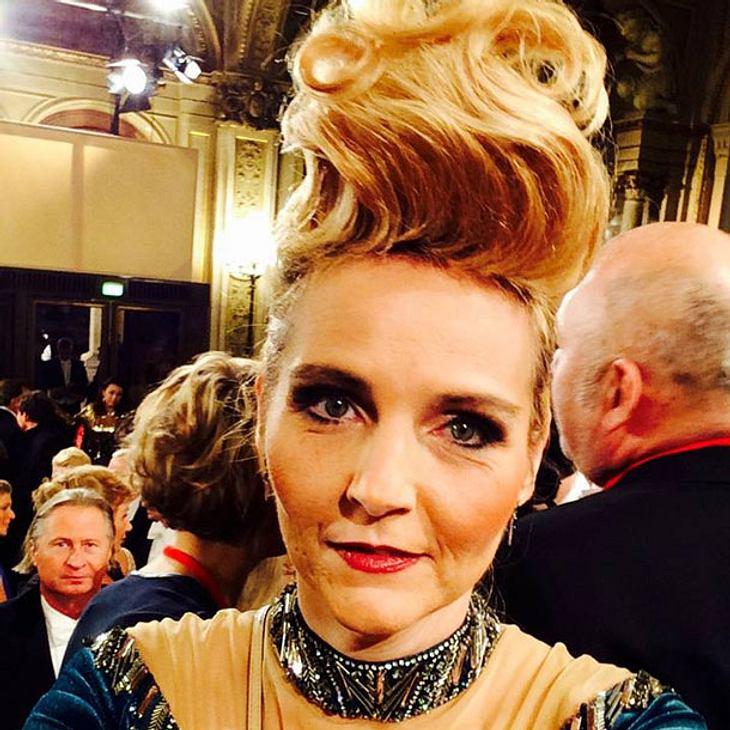 Helena Fürst Opernball frisur