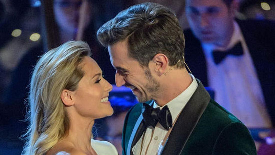 Helene Fischer und Florian Silbereisen wirken immer noch sehr vertraut...