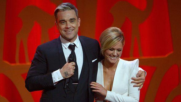 Robbie Williams und Helene Fischer - Foto: GettyImages
