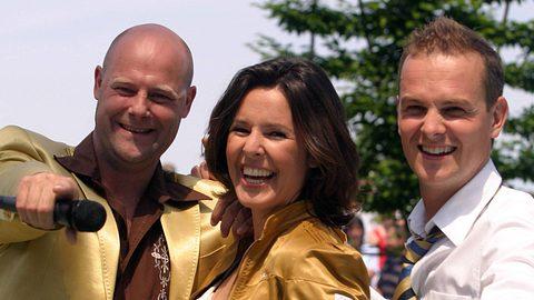 Hermes House Band im ZDF-Fernsehgarten 2004 - Foto: Imago