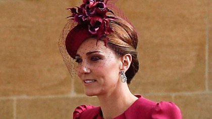 Herzogin Kate: Ungewollter Fashion-Fauxpas bei der Hochzeit von Eugenie! - Foto: Getty Images