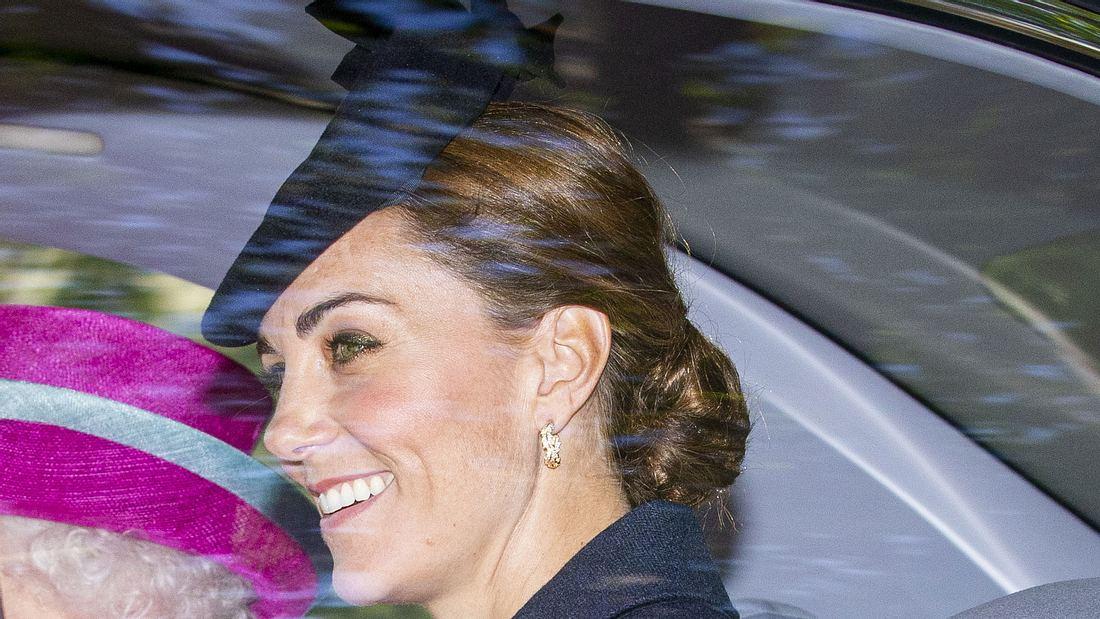 Herzogin Kate! Wow! SO teuer sind ihrer Ohrringe!