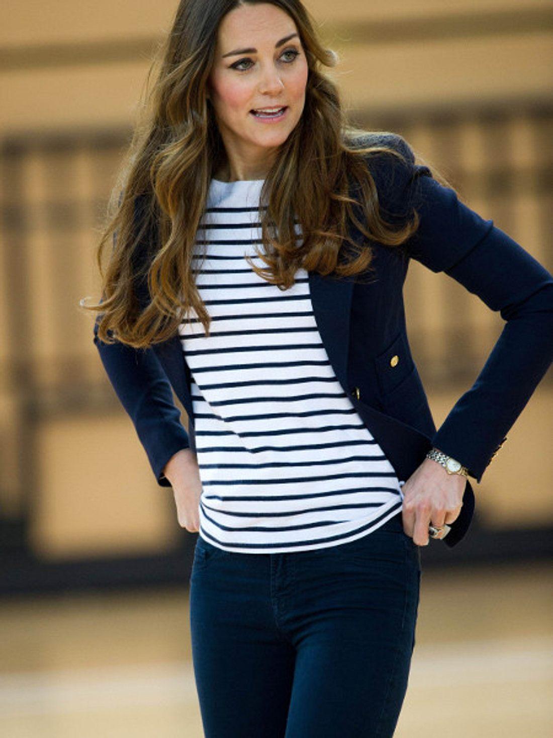 Herzogin Kate: Rank und schlank