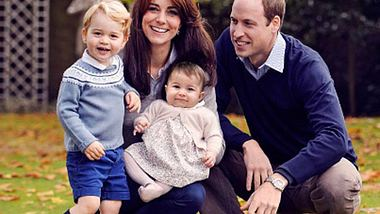 Herzogin Kate Prinz William George Charlotte Familienfoto - Foto: instagram.com/kensingtonroyal