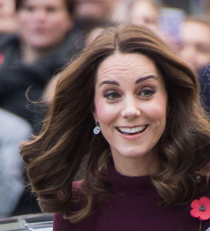 Herzogin Kate: Überraschende Bilder! Ihr Babybauch ist schon so groß