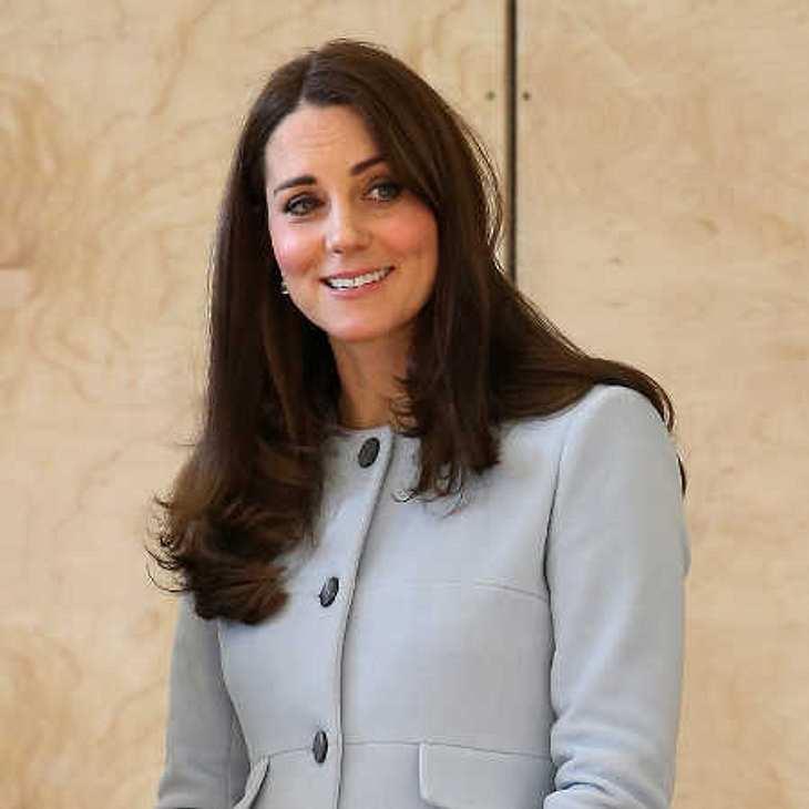 Herzogin Kate: Happy über royale Babytritte!