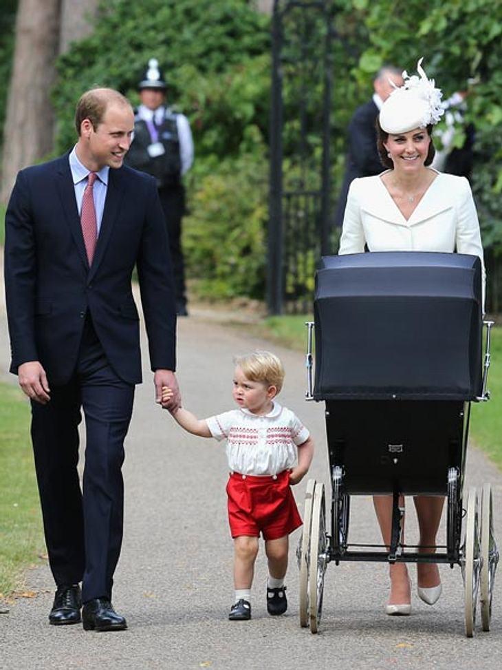 Am Sonntag wurde Prinzessin Charlotte getauft