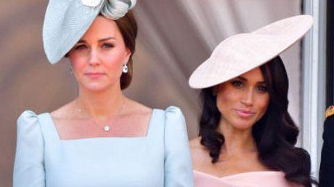 Herzogin Kate ist sauer auf Herzogin Meghan - Foto: GettyImages