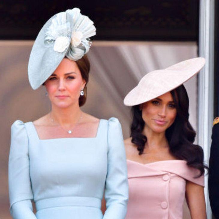 Herzogin Kate ist sauer auf Herzogin Meghan