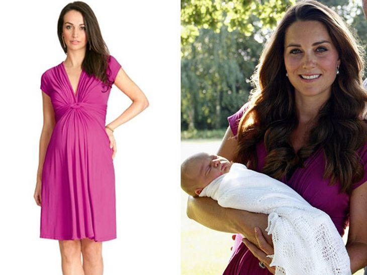 Dieses Kleid trug Herzogin Kate auf dem Baby-Foto