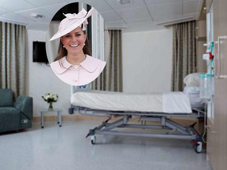 So sieht das Kates Krankenzimmer aus