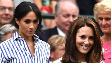 Kate und Meghan im Streit? Jetzt äußert sich der Palast!