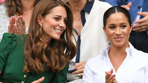 Haben sich Herzogin Kate und Meghan vertragen? - Foto: GettyImages