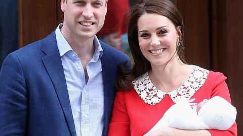 So heißt das Baby von Herzogin Kate und Prinz William - Foto: Getty Images