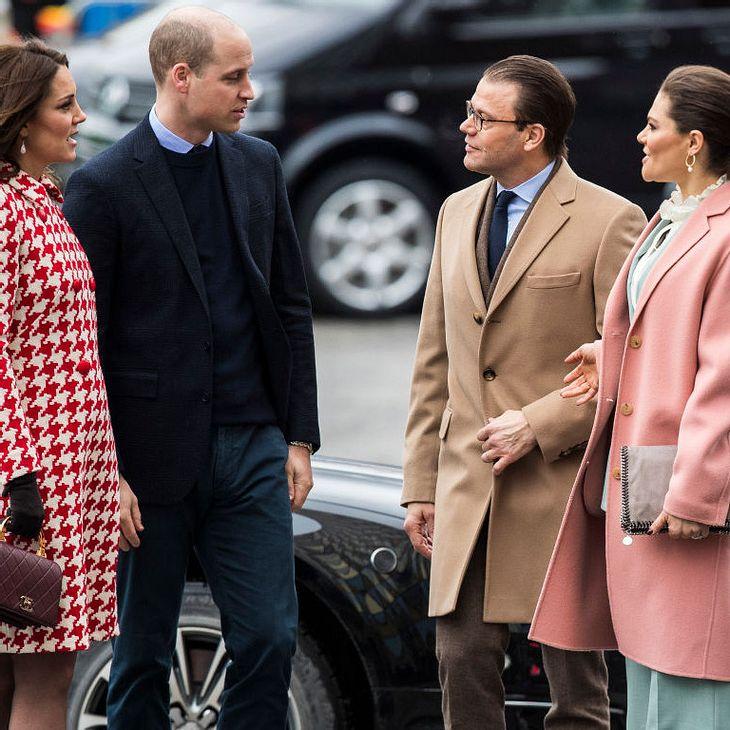 Die britischen und schwedischen Royals haben sich versöhnt