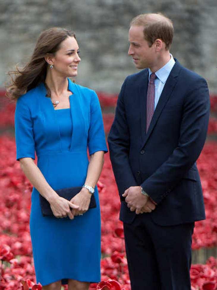 Bei diesem Termin soll Kate schon schwanger gewesen sein.