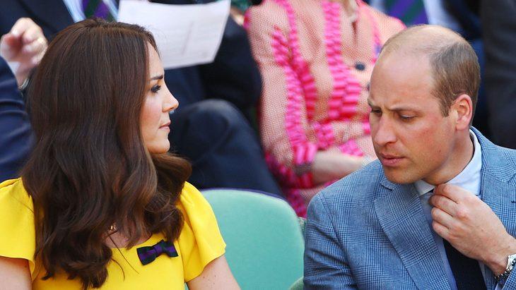 Herzogin Kate ist enttäuscht