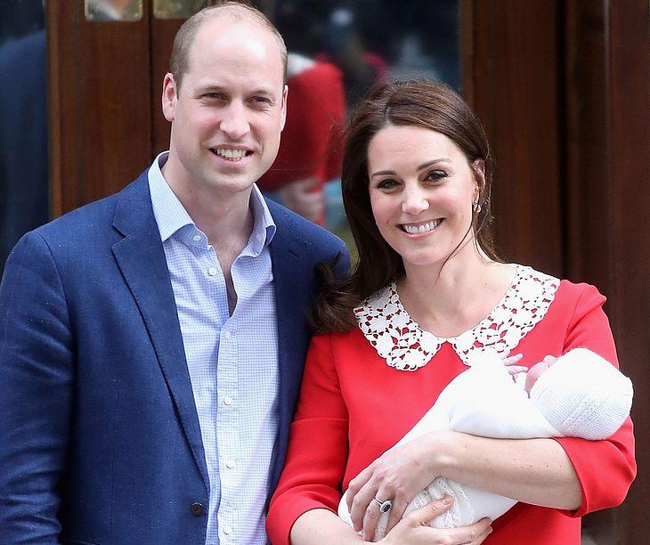 So heißt das Baby von Herzogin Kate und Prinz William