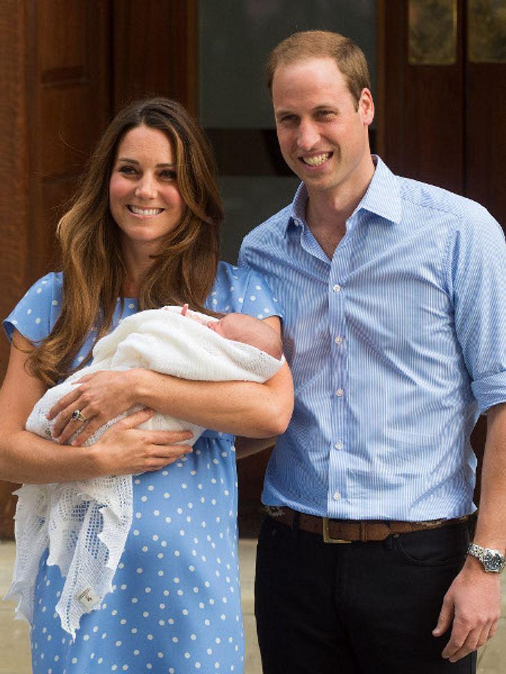 Das royale Baby wird streng bewacht