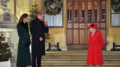 Kate und Queen - Foto: imago