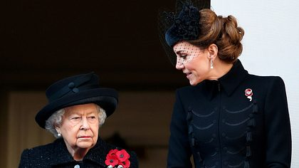 Queen und Herzogin Kate - Foto: Getty Images