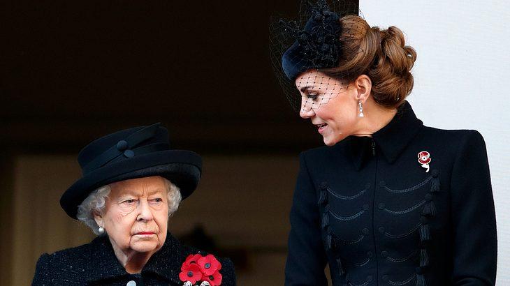 Herzogin Kate: Dieses Outfit gefällt der Queen überhaupt nicht!
