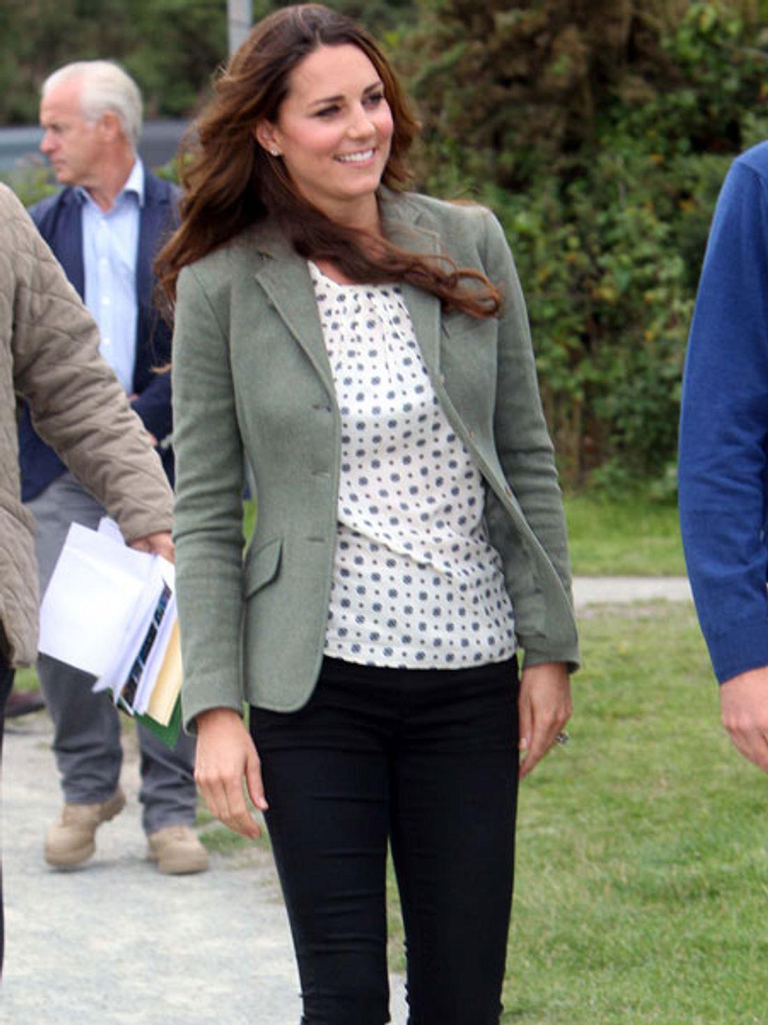 Herzogin Kate ist wieder gertenschlank