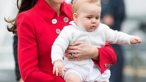 Baby George bekommt bald ein Geschwisterchen - Foto: Getty Images