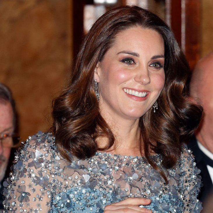 Herzogin Kate strahlt in der Schwangerschaft