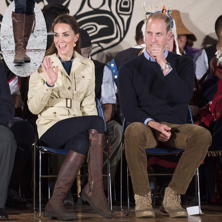 Herzogin Kate: Diese Stiefel tragen sie seit 12 Jahren durch dick und dünn!