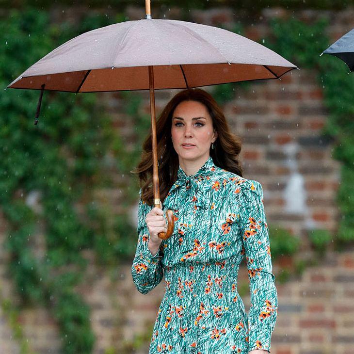 Herzogin Kate in großer Trauer