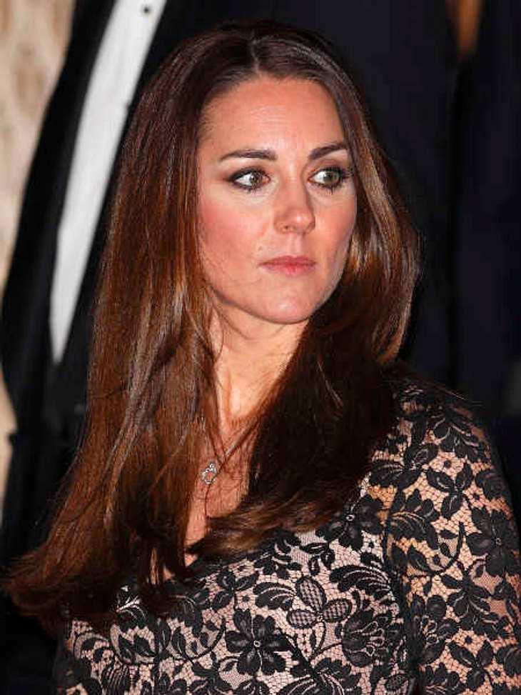Herzogin Kate bekommt eine Mini-Rock-Verbot.
