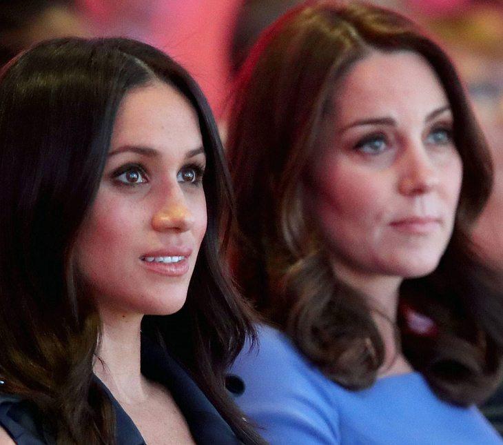 Die Situation zwischen Herzogin Kate und Meghan Markle eskaliert