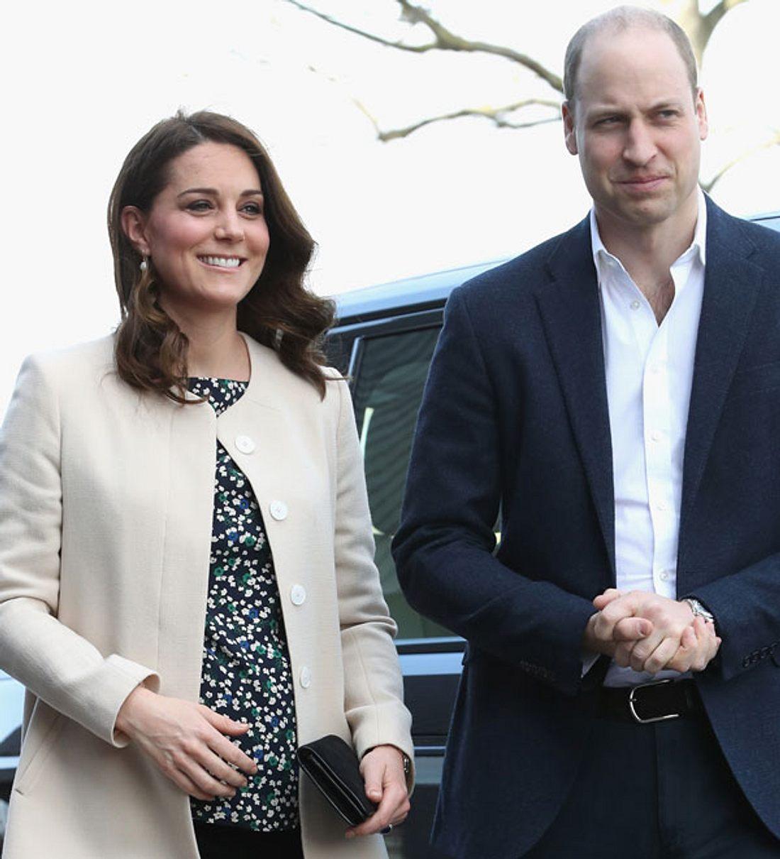Prinz William und Herzogin Kate: Erste Infos zum dritten Baby aufgetaucht!