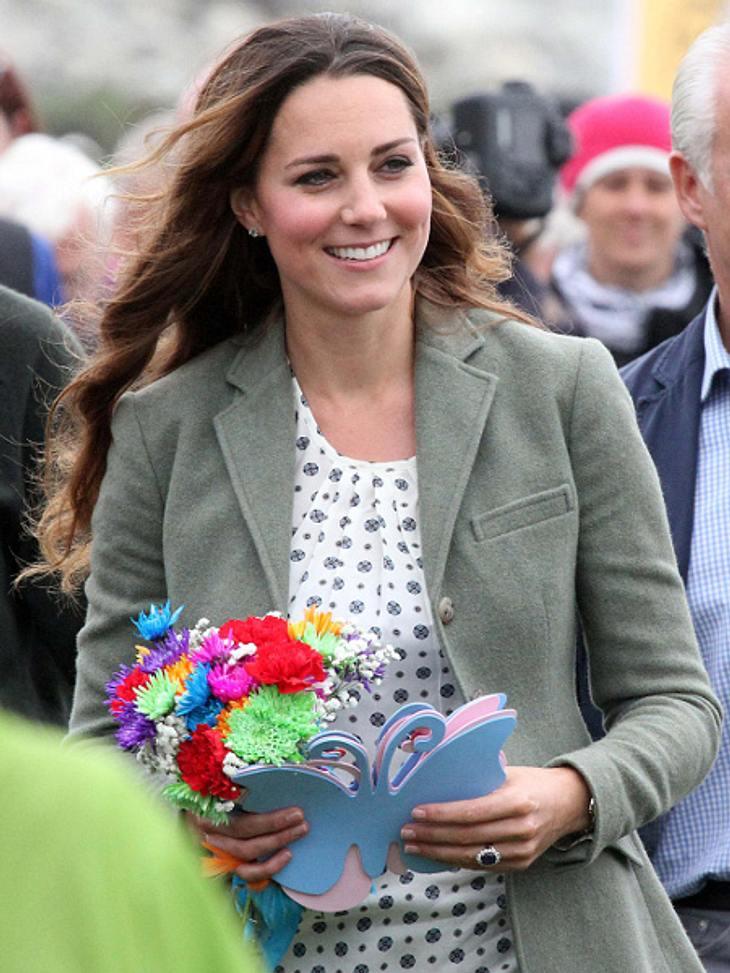 Herzogin Kate legte einen kurzen Zwischenstopp bei Mc Donald's ein