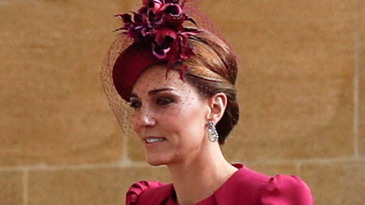 Herzogin Kate: Ungewollter Fashion-Fauxpas bei der Hochzeit von Eugenie!