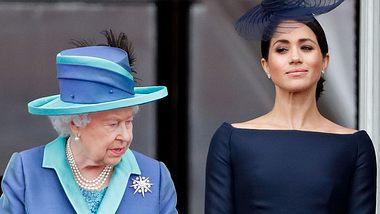Queen Elizabeth II.& Herzogin Meghan - Foto: GettyImages