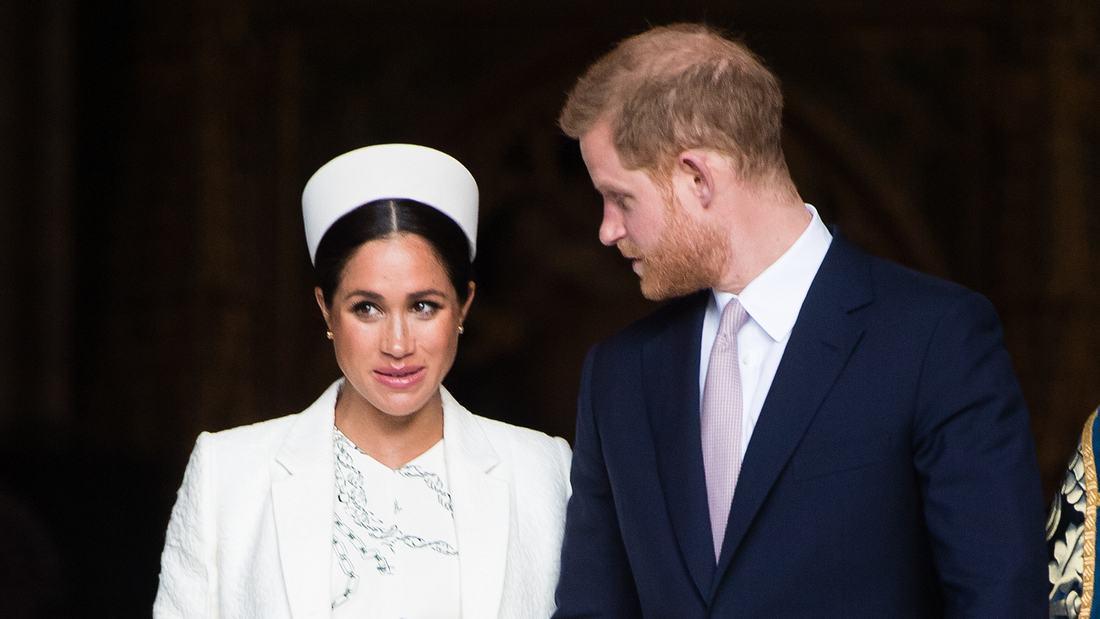 Herzogin Meghan und Prinz Harry packen ihre Koffer