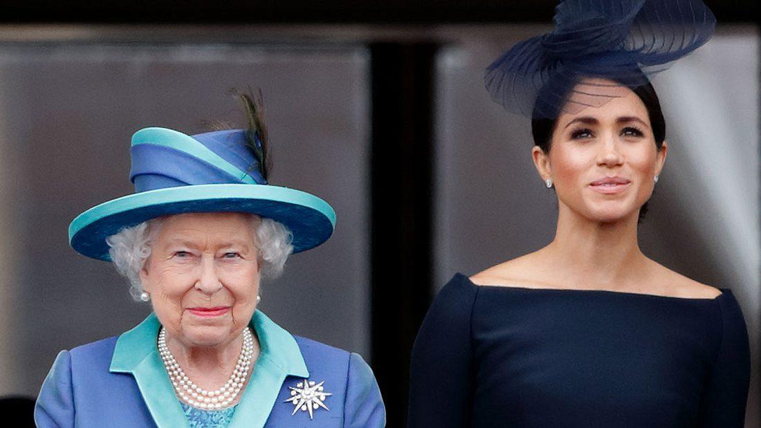 Herzogin Meghan und die Queen