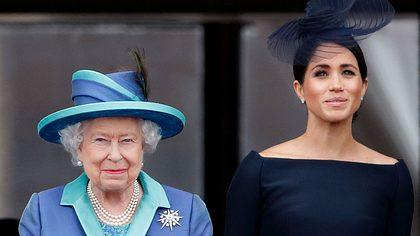 Herzogin Meghan und die Queen - Foto: Getty Images