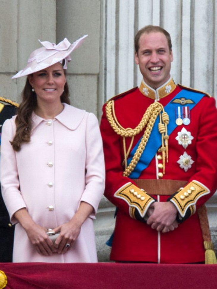 Kate und William haben ein Statement nach der Geburt abgegeben